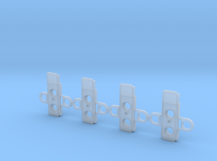 "Atlas O Scale 0.300"" Coupler Box Alignment Cover 3d printed"