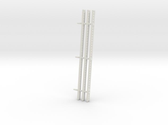 Katyusha Left Rails 1-35 3d printed