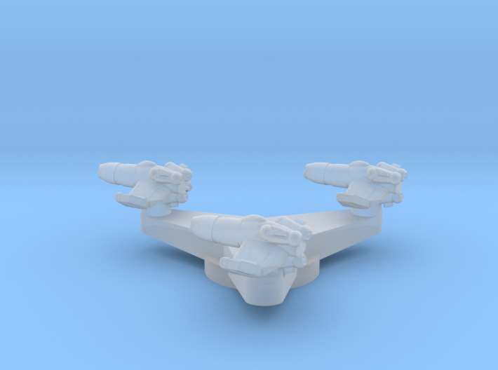 3 Fighter Test On Base 3d printed