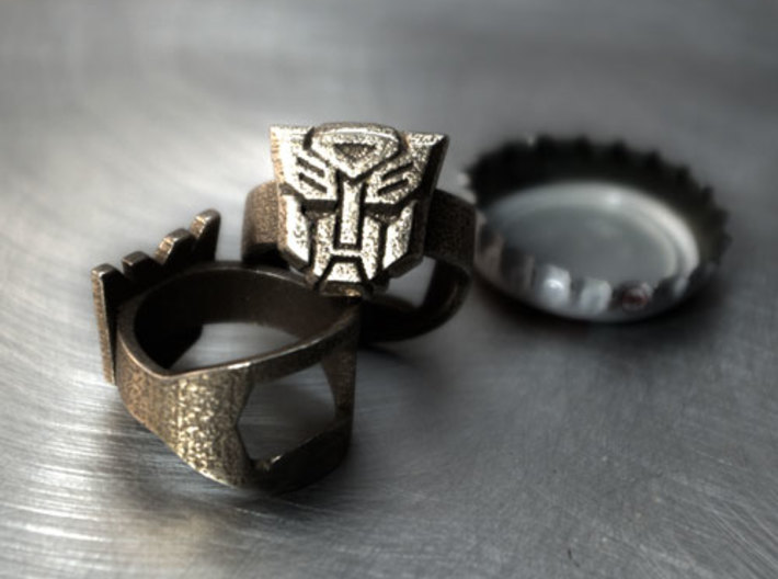 Autobot - Transformers Bottle Opener ring 3d printed