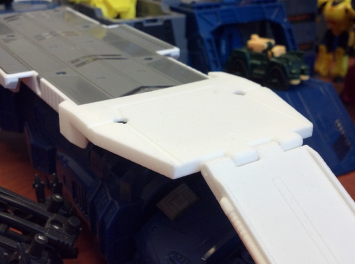 Titans Return Fort Max Runway Ramp Connector 3d printed