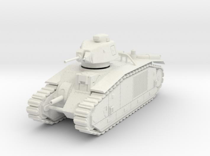 PV153 Char B1bis (1/48) 3d printed