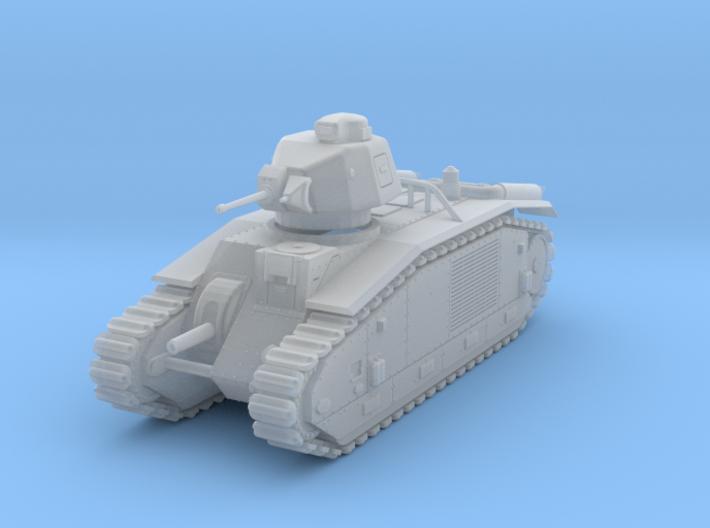 PV153B Char B1bis (1/100) 3d printed
