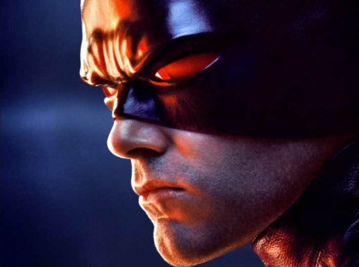 Daredevil Movie Cowl faceshell 3d printed movie poster image of cowl