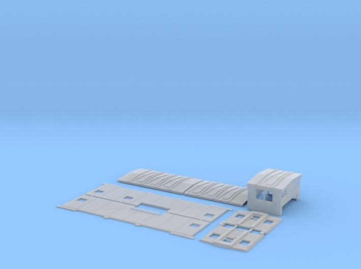 SOO 16-35 Caboose Body Kit, As-built 3d printed