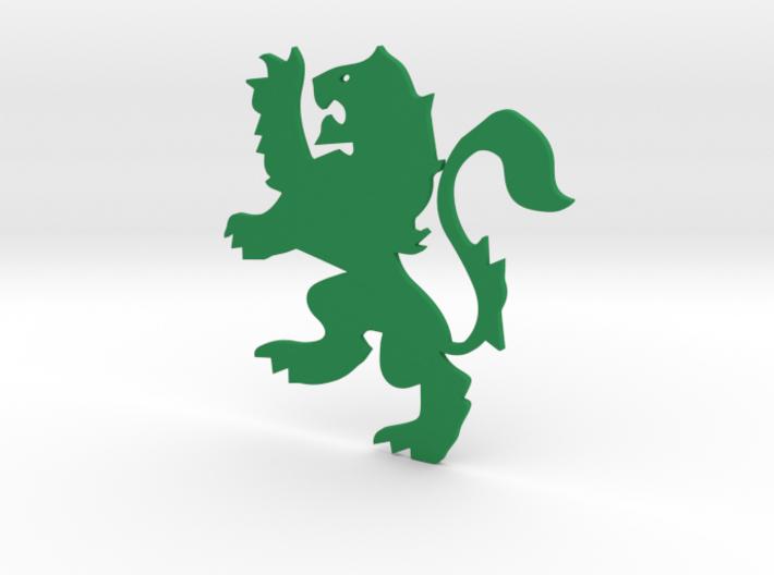 Lion Flat 3d printed
