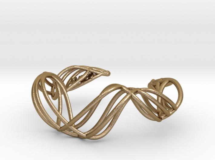 DNA  bracelet for her 3d printed