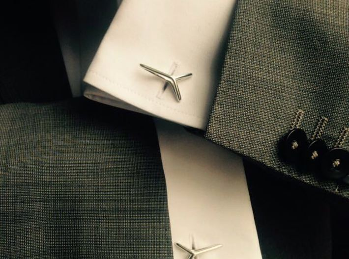 YOUNIVERSAL ONE Cufflinks 3d printed
