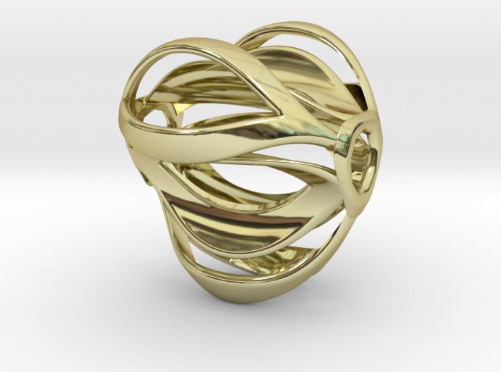 Tribus Pendant 3d printed