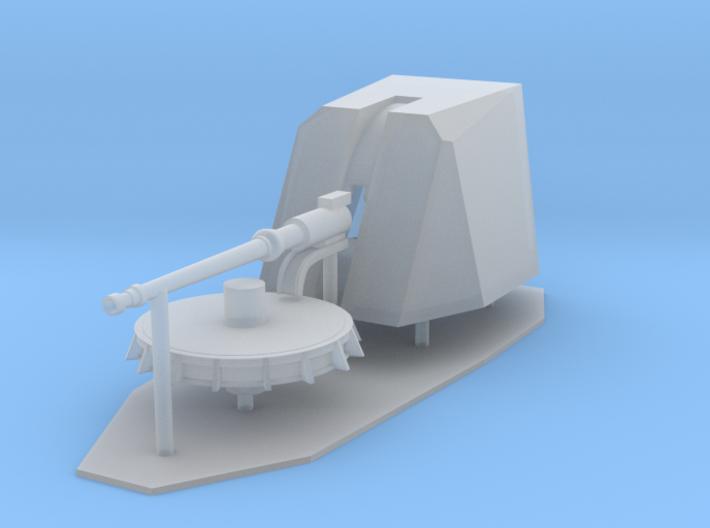 1:144 scale 76mm OTOBREDA Gun 3d printed