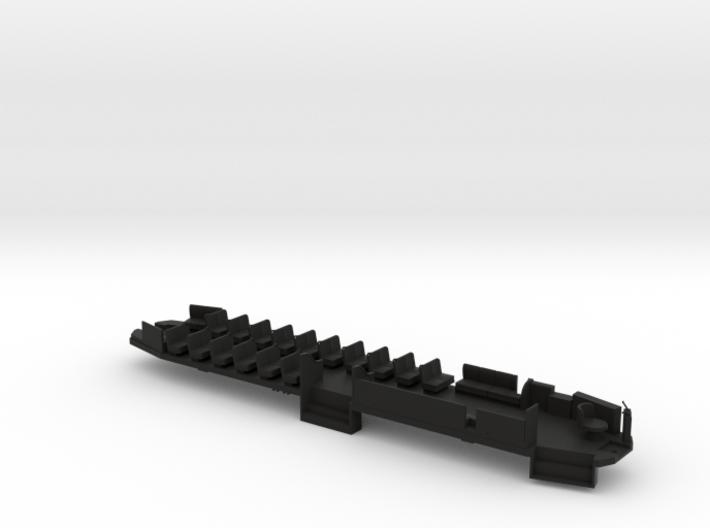 B&QT 6000 O Scale Solid Floor #2a 3d printed