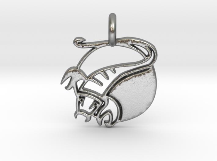 Astrology Zodiac Scorpio Sign 3d printed Astrology Zodiac Scorpio Sign in silver is shining.