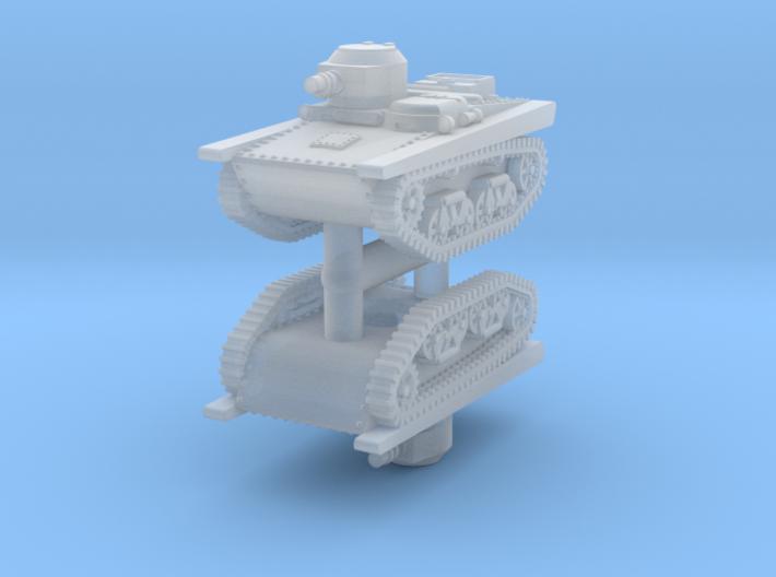 1/285 T-37A (x2) 3d printed