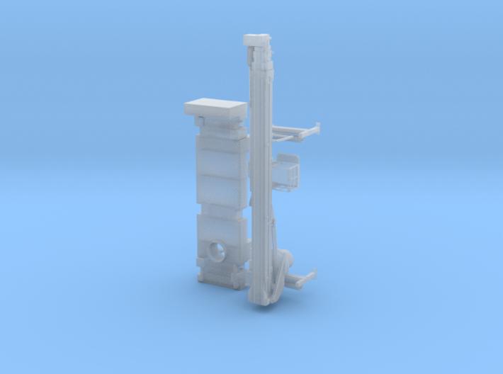 Bronto 4-achsig Aufbau und Mast 3d printed
