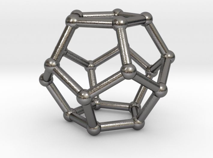 0599 Dodecahedron V&E (a=10mm) #002 3d printed