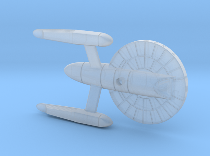 1/3125 Aspen Class Federation Frigate 3d printed