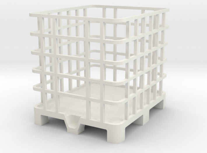 Palette 1000l IBC Container 1:32 1/2 3d printed