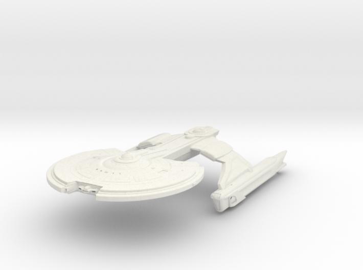 Crow Class II Destroyer 3d printed