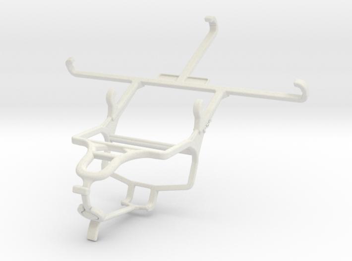 Controller mount for PS4 & Posh Titan Max HD E550 3d printed