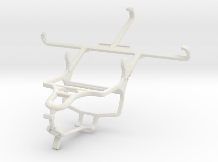 Controller mount for PS4 & QMobile Noir A750 3d printed