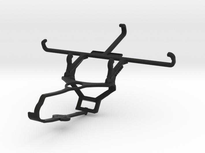 Steam controller & QMobile Noir X550 - Front Rider 3d printed