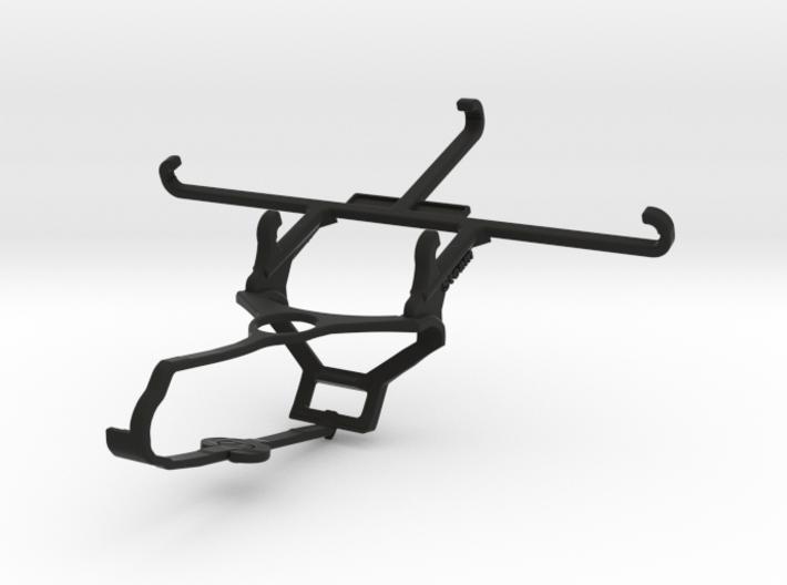 Steam controller & QMobile Noir X950 - Front Rider 3d printed