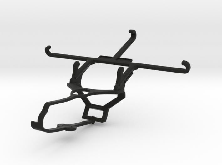 Steam controller & QMobile Noir Z9 - Front Rider 3d printed