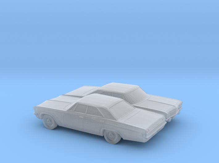 1/160 2X 1965 Chevrolet BelAir Sedan 3d printed