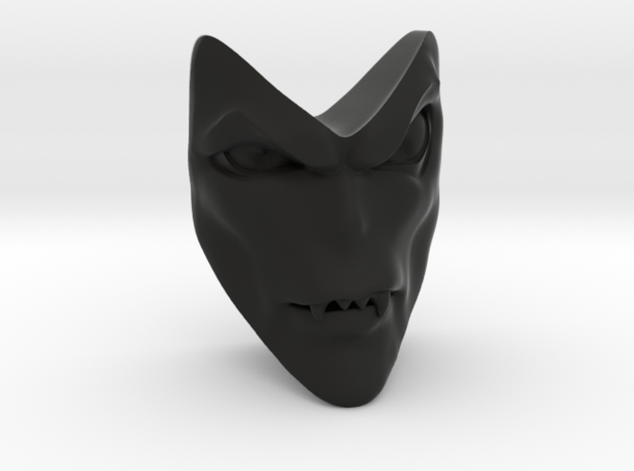 D&D Venger Closed Mouth Face 3d printed