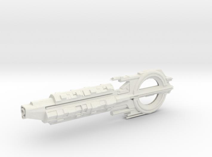 Quarian Cruiser. 3d printed