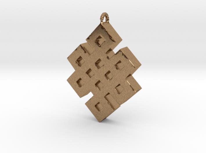 Infinite knot 3d printed