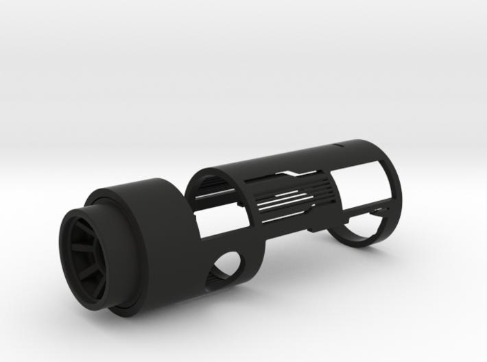 Graflex Grand Master Shell Clear 3d printed