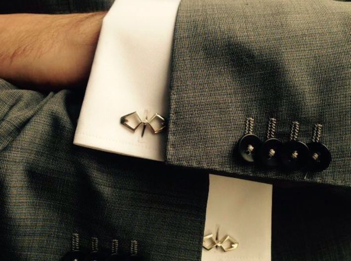HEAD TO HEAD Again, Cufflinks 3d printed