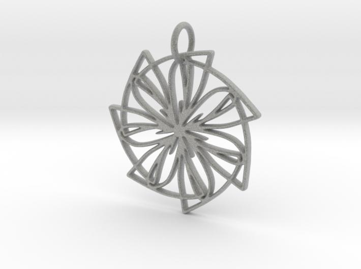 Lemon Slice Medium Pendant 3d printed