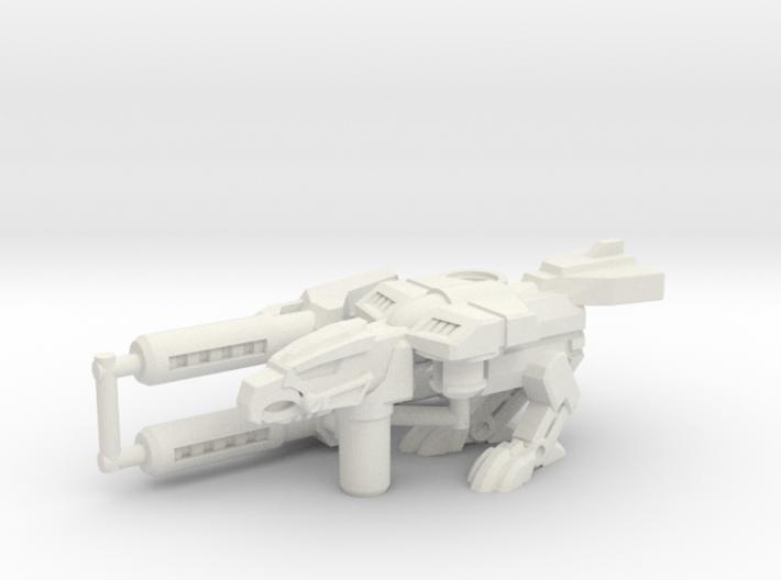 Birdshot (Falcon/Eagle) Transforming Weaponoid Kit 3d printed