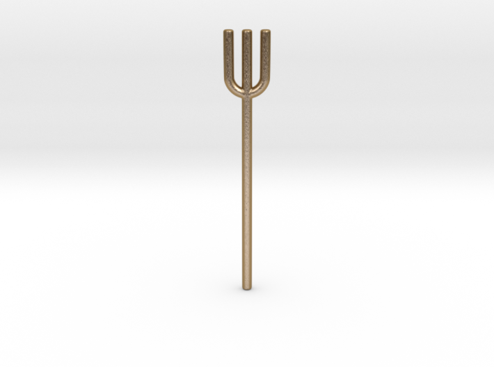 Trident Tuning Fork 3d printed