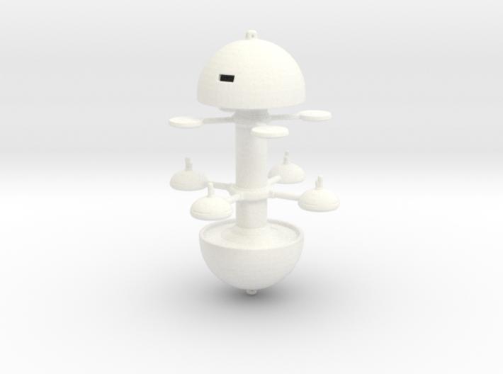 Utopia Planitia Spacedock 60mm 3d printed