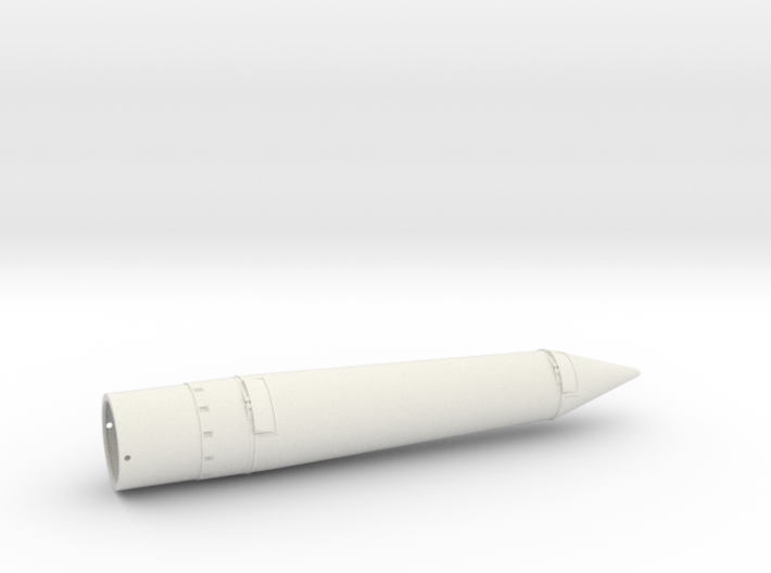 Astrobee1500-nose cone for ST-20 tube 3d printed