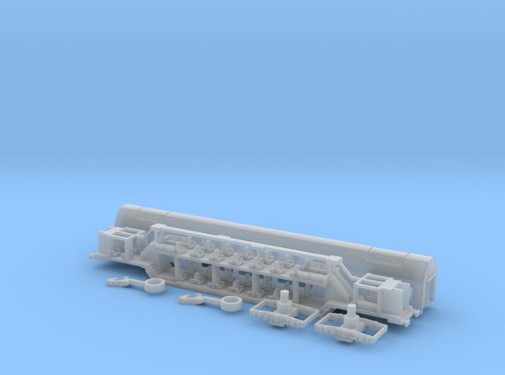 PKP Bdhpumn Doppelstockwagen 3d printed