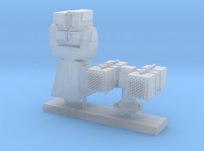 1/72 scale Laser Director Set 3d printed