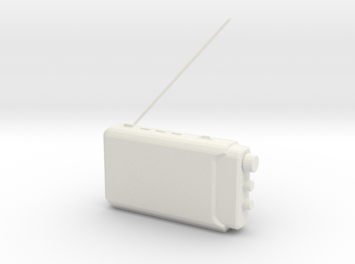 Printle Thing Portable Radio - 1/24 3d printed