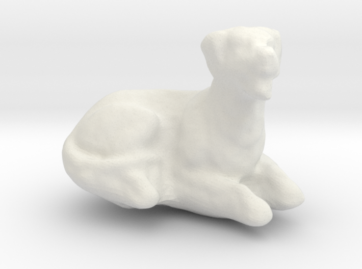 Printle Thing Dog-02 1/24 3d printed