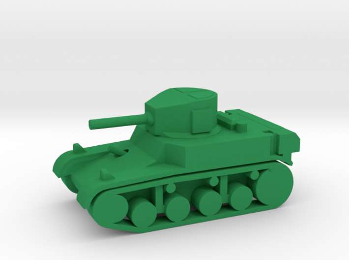 1/144 Scale Stuart M3A1 Light Tank 3d printed