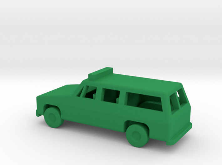 1/144 Scale Suburban With Lights 3d printed
