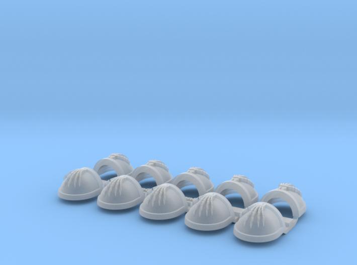 Skeleton Hand - Gen7:Standard Shoulder x10 3d printed