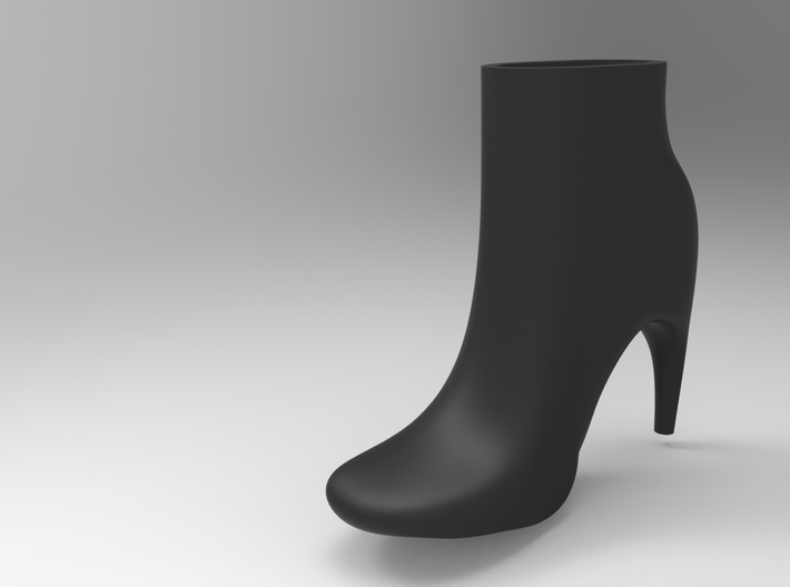 Ankle boot Planter/vase 3d printed