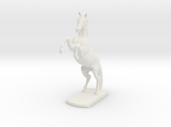 Horse Rearing 3d printed
