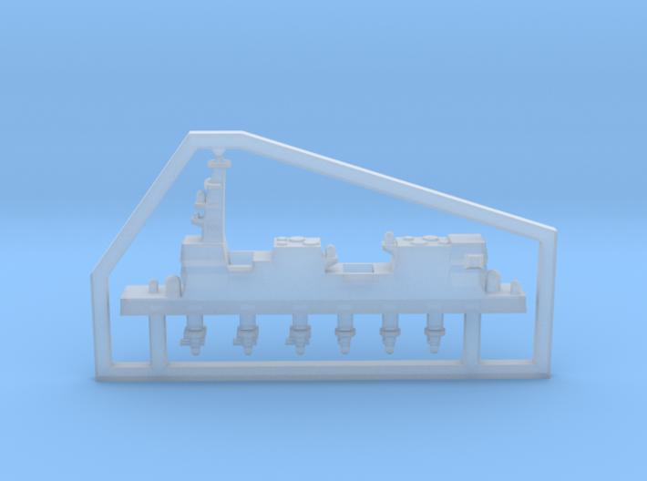 30SJ01b 1:3000 multipart 22DDH Izumo - Details 3d printed