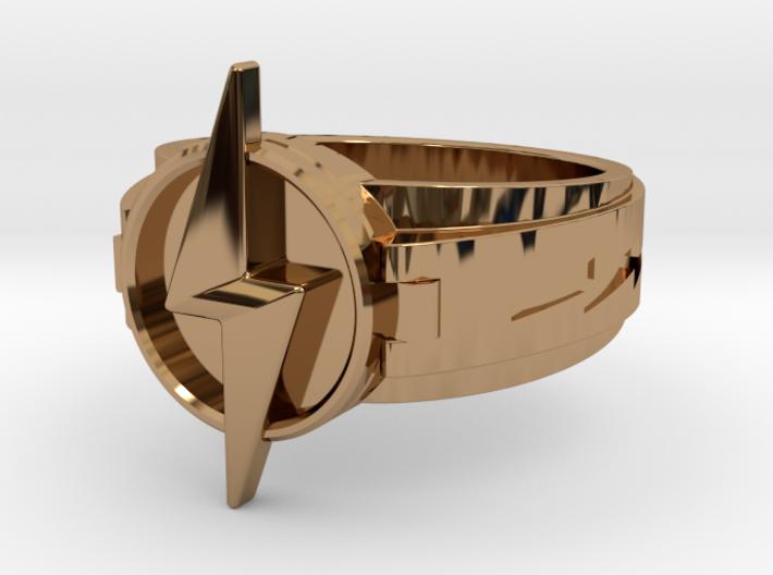V3 World 3 Flash ring Size8.5 18.53mm 3d printed