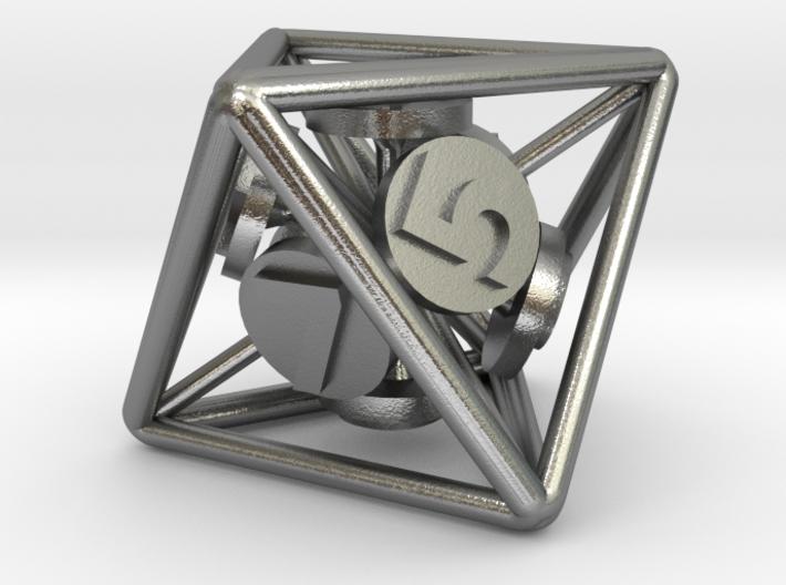 8-Sided Vector Die 3d printed